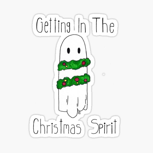 The Christmas Spirit Sticker