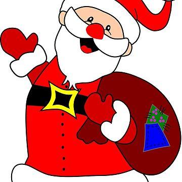Santa Claus -Christmas nicholas funny by ModaMario1021