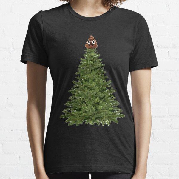 Star caca sur un arbre de Noël T-shirt essentiel