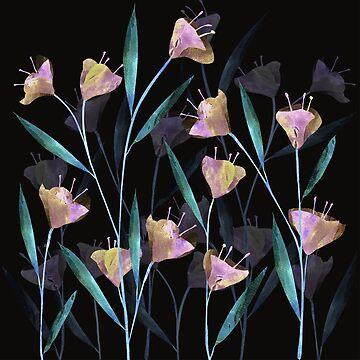 Flowers at Night by rodrigomff23