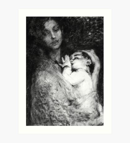 Mum Take two Art Print