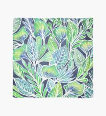 Masked Flora Collection Leaves Scarf