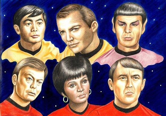 To boldly go......Star Trek.....the originals by Margaret Sanderson