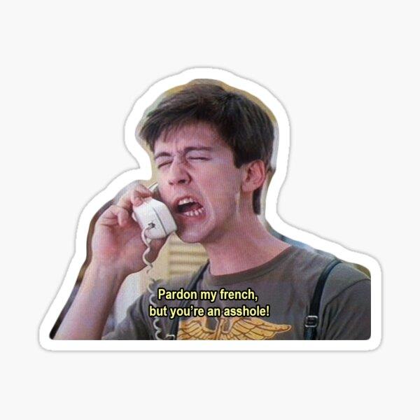 Ferris Bueller Cameron Fry Sticker