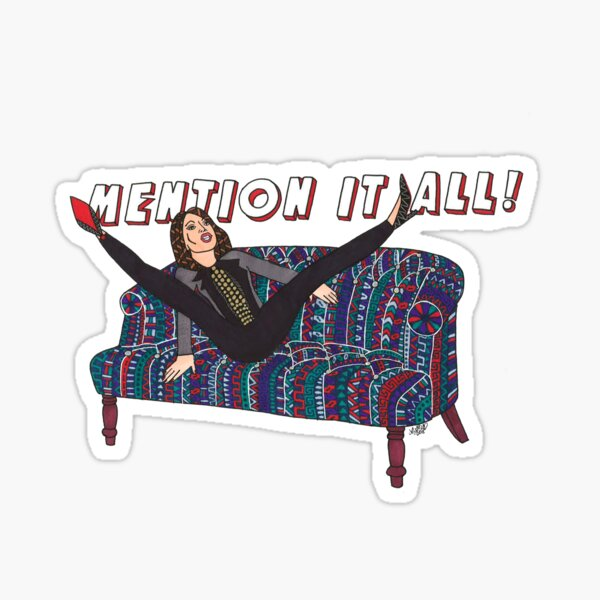 RHONY - Bethenny Frankel - Mention It All! Sticker