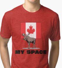 "Canada ""MY SPACE"" Tri-blend T-Shirt"
