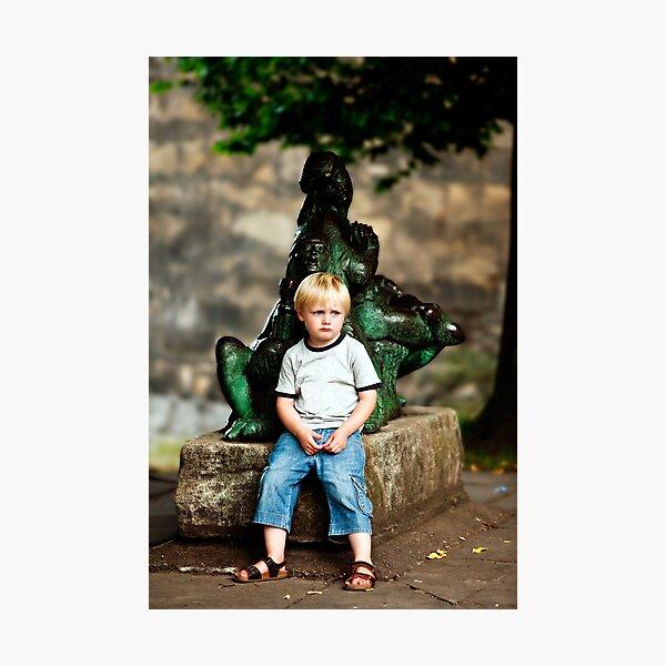 Sad Sam & the Merry Men Photographic Print