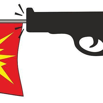 Gun Bang Flag by ModaMario1021
