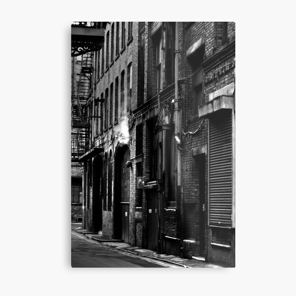 Manchester Street Metal Print