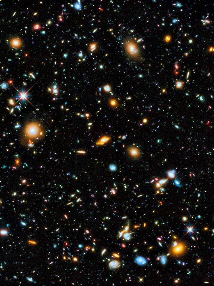 Hubble Extreme Deep Field by rontrickett