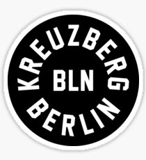 Kreuzberg - Berlin - Germany Sticker