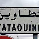 On the road to Tataouine (Tunisia) by Thierry Beauvir