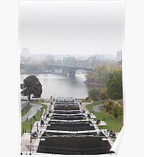 Rideau Canal, Ottawa, Canada. Poster