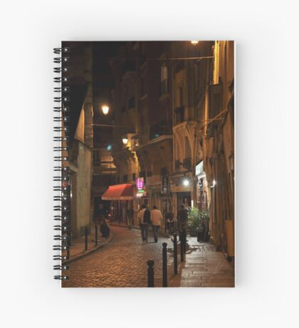 evening in the Latin Quarter Spiral Notebook