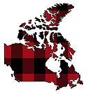 Canada in Plaid by Sun Dog Montana