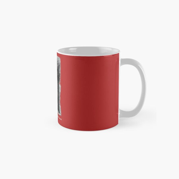 The spirit answered not, but pointed onward with its hand. Classic Mug