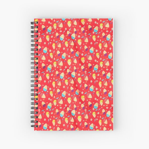 Pineapple Whip Print Spiral Notebook