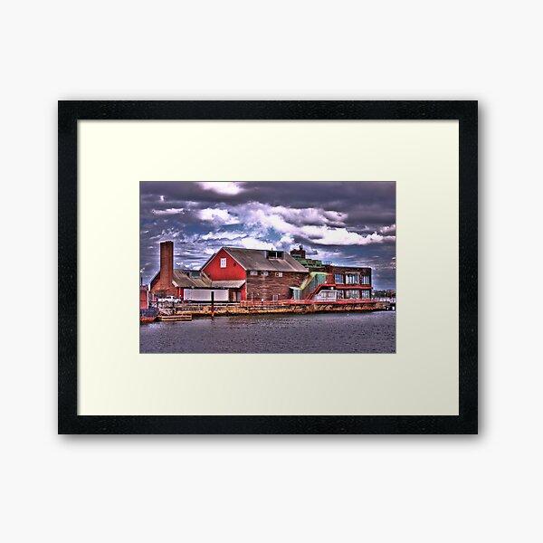 Anthony's Pier 4 Framed Art Print
