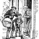 """""""Why, it's impossible to carry that to Camden Town,"""" said Scrooge. by Bonnie Nilsen"""
