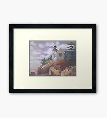 Light House - Maine Framed Print