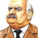 Open all hours - Ronnie Barker plays Arkwright by Margaret Sanderson