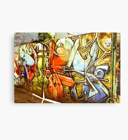 Gates of Graffiti Metal Print
