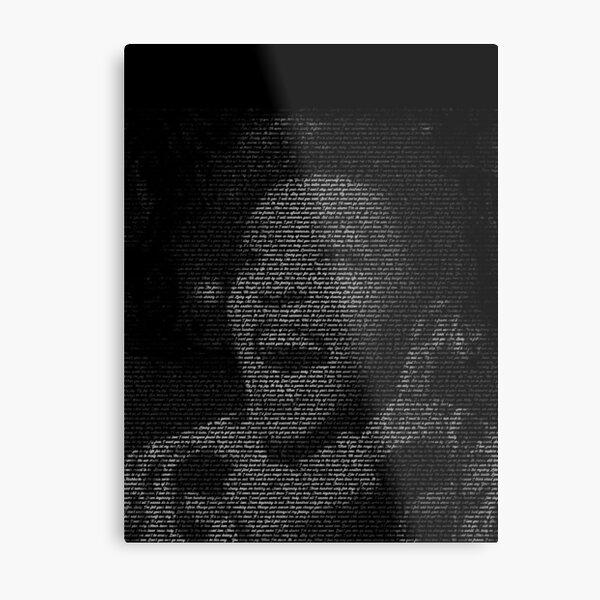 Anita Baker In The Text Metal Print