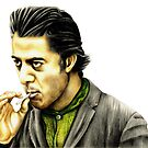 Dustin Hoffman plays Enrico Salvatore Rizzo. 'Ratso' from Midnight Cowboy by Margaret Sanderson
