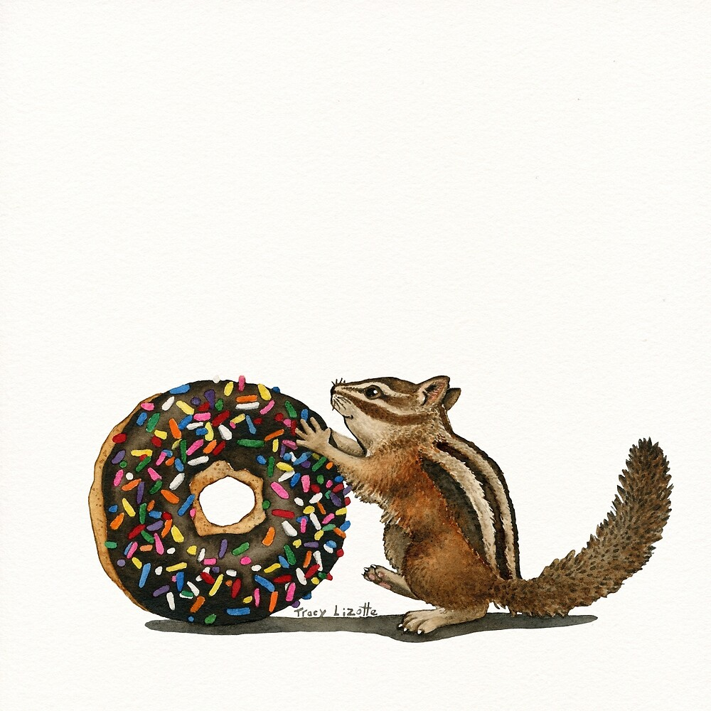 The Donut Thief   by Tracy Lizotte