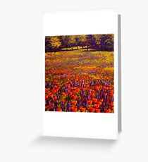 Sonoma Spring Meadow Greeting Card