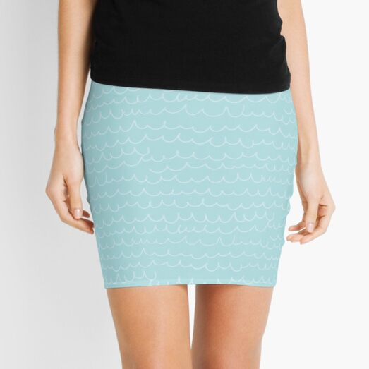 Mermaid Scale Cuties Mini Skirt