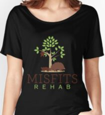 Misfits Rehab Support Women's Relaxed Fit T-Shirt