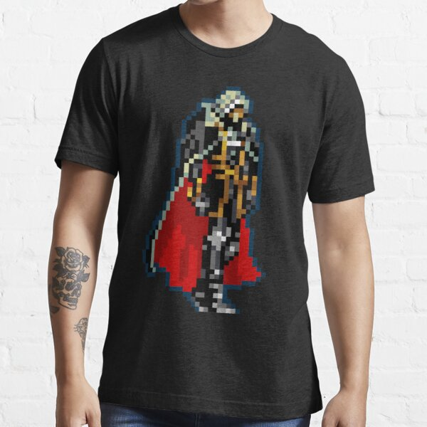 Alucard Black & Red Cape Classic de 32 bits Retro Camiseta esencial