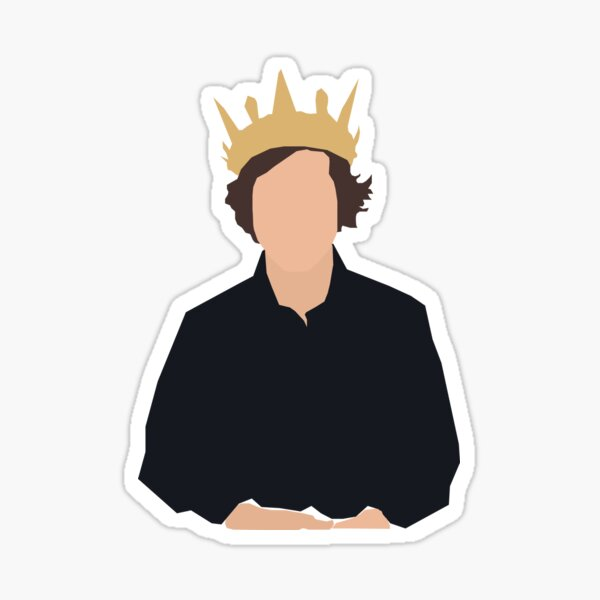 King David Dobrik Sticker
