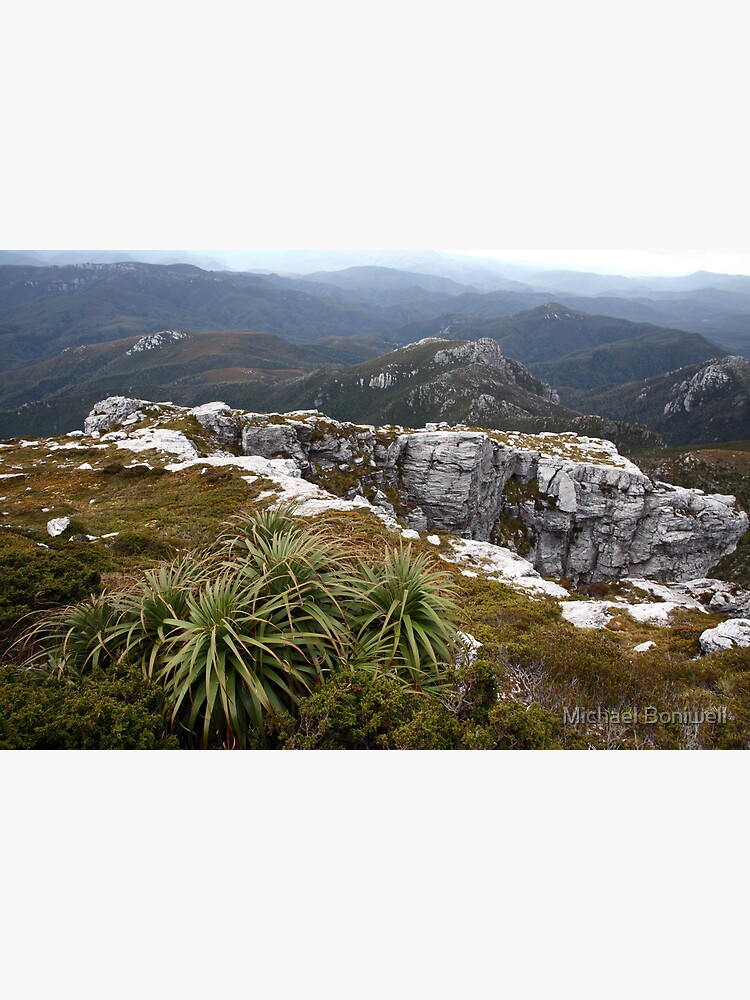 View from Frenchmans Cap, Franklin-Gordon Wild Rivers National Park, Tasmania by Chockstone