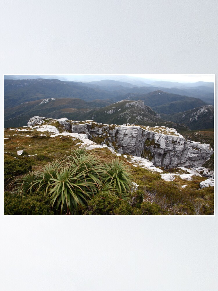 Alternate view of View from Frenchmans Cap, Franklin-Gordon Wild Rivers National Park, Tasmania Poster