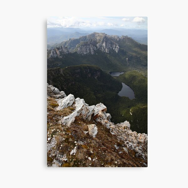 Frenchmans Cap Summit View, Franklin-Gordon Wild Rivers National Park, Tasmania, Australia Canvas Print