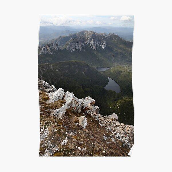 Frenchmans Cap Summit View, Franklin-Gordon Wild Rivers National Park, Tasmania, Australia Poster