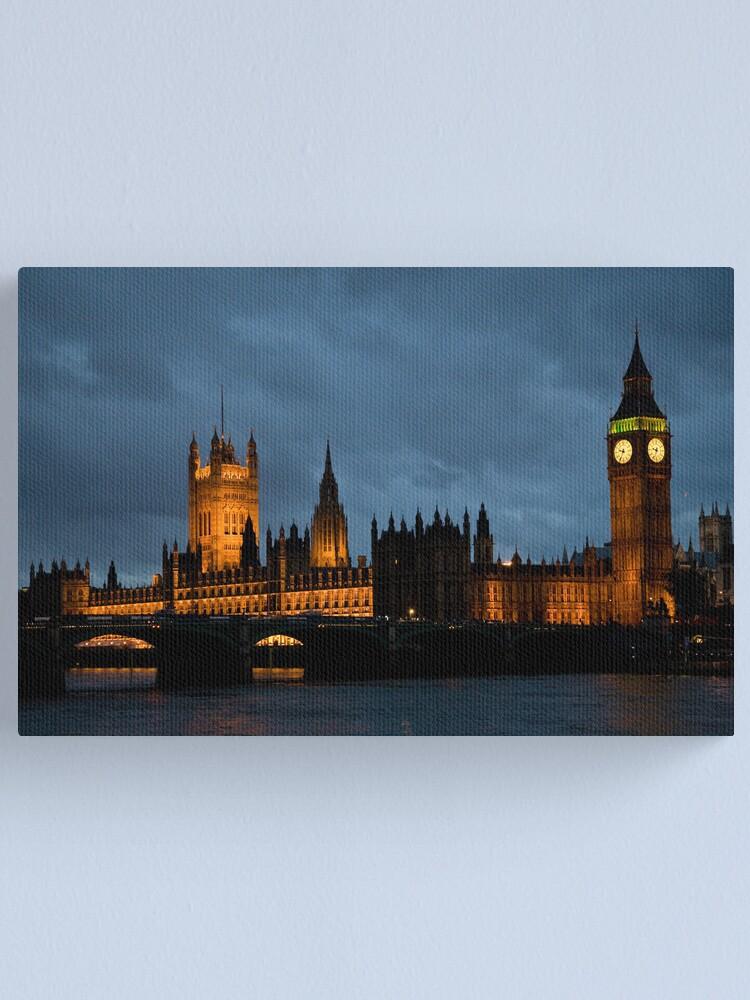 Alternate view of Parliament Canvas Print