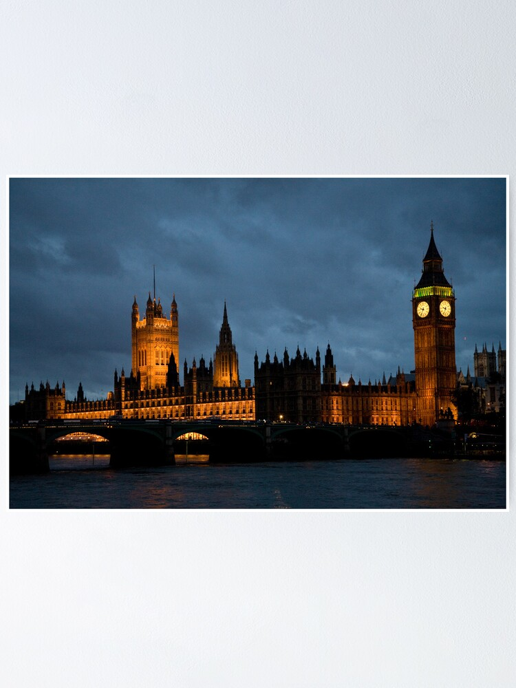 Alternate view of Parliament Poster
