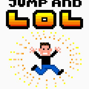 Jump and LOL - 8bit pixel arcade madness by fuxi