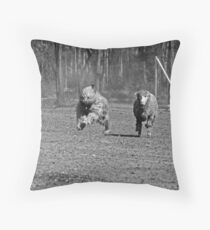 Moose #1 Throw Pillow