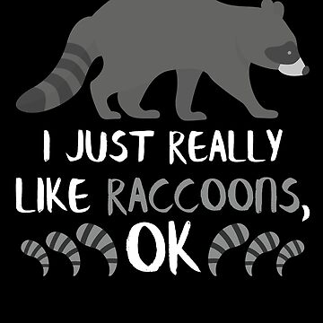 Raccoon Animal Gifts Funny Raccoon Lovers Gifts by modernmerch