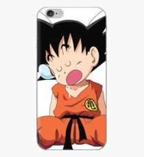 goku dormilon - goku sleeping - goku baby - goku small iPhone Case