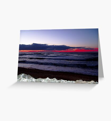 Sunset-Margaree Harbour Greeting Card