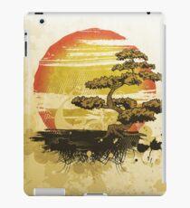 Vintage Bonsai Tree Sunset iPad Case/Skin