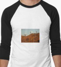 Ross River Moonrise Men's Baseball ¾ T-Shirt