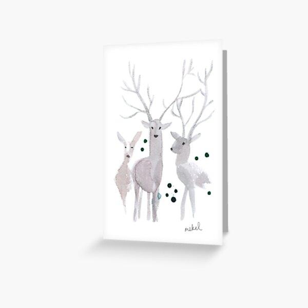 Hello deer Greeting Card