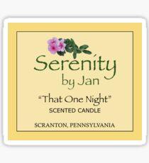 Serenity By Jan - 'That One Night' Sticker