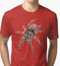 Mexican Red Knee Tarantula Tee Tri-blend T-Shirt